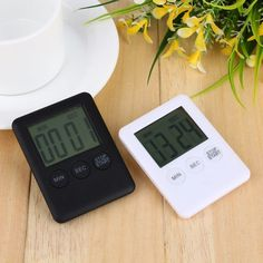 Digital Kitchen Cooking Timer Great Price: Only $3.00 Plus FREE Shipping WORLDWIDE #electronics Digital Table Clock, Digital Clocks, Desk Clock, Alarm Clock, Clock Table, Timer Watch, Kitchen Timers, Digital Timer, Home