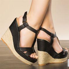 Sandales femme Noir taille 38, achat en ligne Sandales femme sur MODATOI