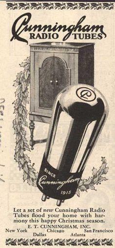 E.T. Cunningham's Radio Tubes – Cunningham Radio Tubes (1929)