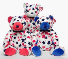 Red, Ty Beanie Buddy bear reference information and photograph. Beanie Bears, Beanie Buddies, Ty Bears, Ty Babies, Collectible Toys, Cuddle Buddy, Dope Hairstyles, Cute Eyes, Beanies