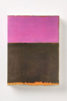 Mark Rothko - coolest book covers I ever saw. no title needed