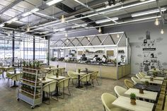 Laboratory aesthetic: Coffee Ground (Endsleigh) - Kiwi & Pom - Best Restaurant or Bar in another space