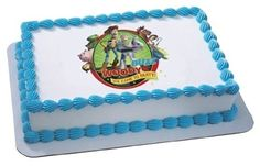 Toy Story Woody Edible Cake Image…
