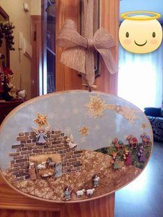 Belén Christmas Jesus, Christmas Nativity Scene, Christian Christmas, Christmas Villages, Christmas 2017, Christmas Projects, Christmas Time, Xmas, Christmas Ornaments