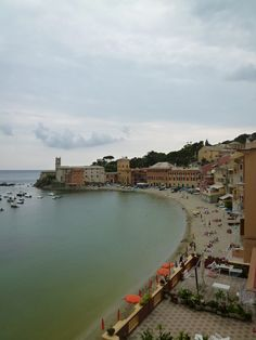 """Panorama, Camera di """"Hotel Miramare Sestri Levante"""", Sestri Levante Liguria Italia (Luglio)"""