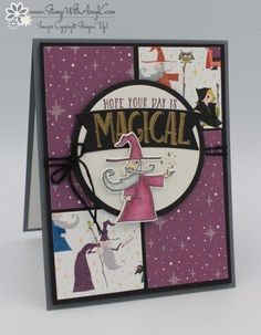 Stampin' Up! Magical Day for the December Birthdays Blog Hop