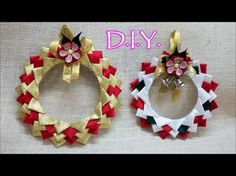 ❄ ☃ ❄ D.I.Y. Satin X-Mas Ornament Tutorial | MyInDulzens ❄ ☃ ❄ - YouTube
