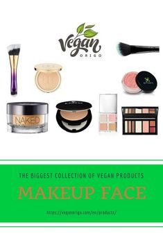 Finnishing touches of your vegan make up with cf products