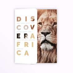 freelance Vintage African Safari Brochure Folder and Itinerary Inserts by Bella_Design