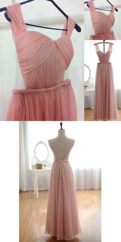 Pink Prom Dresses, Long Prom Dresses, 2017 Prom Dresses, Cheap Prom Dresses under 100