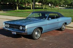 1968 Ford Fairlane 2 Door Hardtop Maintenance/restoration of old/vintage vehicles: the material for new cogs/casters/gears/pads could be cast polyamide which I (Cast polyamide) can produce. My contact: tatjana.alic@windowslive.com