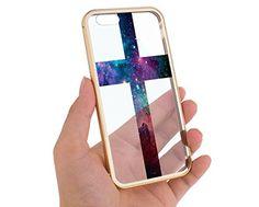 "Apple Iphone 6 Gold Case Nebula Cross Stars Aluminum Bumper 4.7"" Cover Skin Mobile Phone Accessory Girls Teens MonoThings http://www.amazon.com/dp/B00XHD1L1Y/ref=cm_sw_r_pi_dp_D7pJvb1BKX6VM"