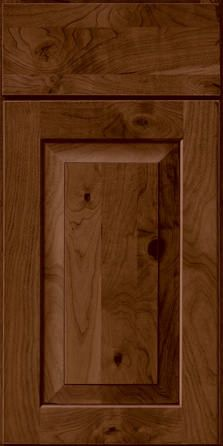 Merillat Masterpiece Cabinetry-Cimmaron Rustic Cherry Rye with Sable Glaze from waybuild
