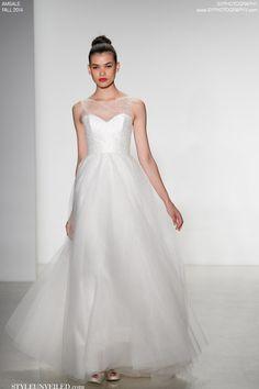 Gorgeous Fall 2014 Amsale Wedding Dresses / SYPhotography / via StyleUnveiled.com/wedding-blog/category/wedding-dresses