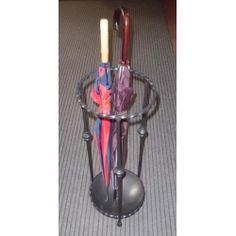 Wrought Iron Umbrella Stand. Customize Realizations. 1028