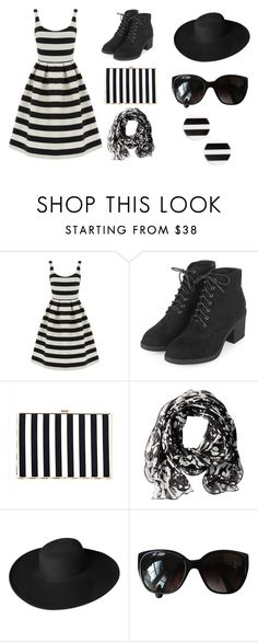 """Untitled #216"" by velvetgirl10 ❤ liked on Polyvore featuring Warehouse, Topshop, Calvin Klein, Dorfman Pacific, Chanel and Kate Spade"