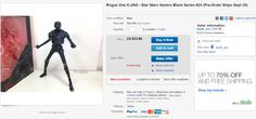 ToyzMag.com » Star Wars Black Series : jouets Rogue One déjà sur ebay