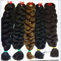 free shipping 300g weight synthetic sew in hair extensions twist hair 3pcs one pack