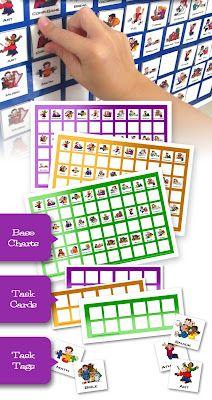 Free Homeschool Task Card Set (Facebook Offer)