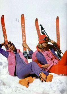 Ski Vintage, Posters Vintage, Vintage Vibes, Wallpaper Cross, Ski Style, Whistler, Mode Au Ski, Film Mythique, Retro