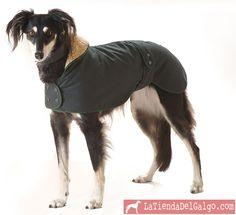 Abrigo para galgo.  En: latiendadelgalgo.com