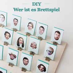 """DIY Brettspiel: """"Wer ist es"""" mal ganz anders! Bastel deine eigene Version"""
