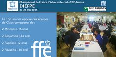e Top Jeunes, c'est avant tout l'esprit d'équipe et la cohésion d'un groupe http://dieppe2015.ffechecs.org