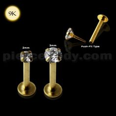 Amazing Looking Gold Tongue Ring - Piercebody.com - Stunning Wholesale Body Jewelry at  Market Prices.
