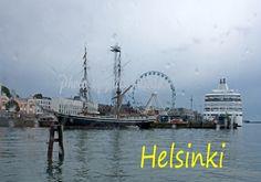 In the rain. Photo Aili Alaiso Finland