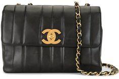 1995 Mademoiselle stitch shoulder bag Chanel, Shoulder Bag, Stitch, Classic, Bags, Fashion, Derby, Handbags, Moda