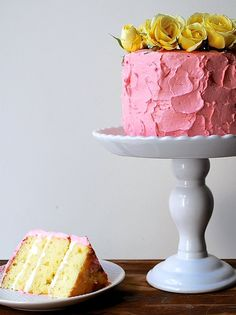 If you only learn one cake recipe, let it be this easy, delicious yellow buttercream one