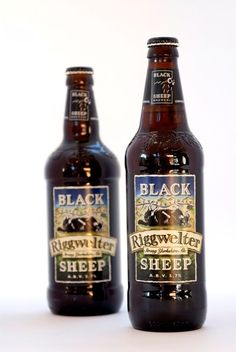 Black Sheep Beer, Yorkshire, United Kingdom.