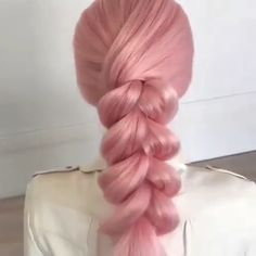 Pink braid tutorial
