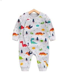 Allover Adorable Dinosaur Pattern Long Sleeve Snap-up Jumpsuit in Grey for Baby and Newborn Baby Girl Dress Patterns, Baby Clothes Patterns, Cute Baby Clothes, Sewing Patterns, Frock Patterns, Coat Patterns, Baby Patterns, Clothing Patterns, Baby Outfits Newborn