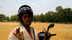 How to ride a safety scooty  for   girls and women ( scooty Girl )