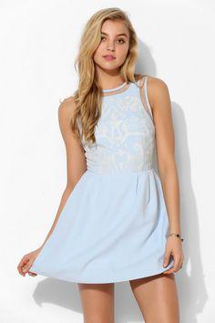 Keepsake Cold Desert Fit & Flare Dress #urbanoutfitters