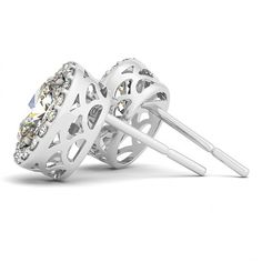 STYLE# 40590-10X8 - Halo - Earrings
