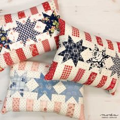 Flag Quilt, Patriotic Quilts, Quilt Blocks, Blue Quilts, Small Quilts, Mini Quilts, Quilting Projects, Sewing Projects, Quilting Ideas