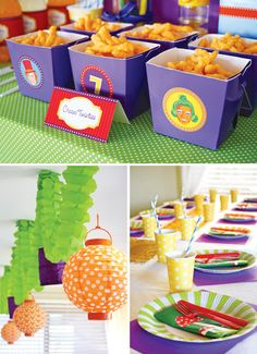Magical Willy Wonka Inspired Birthday Party