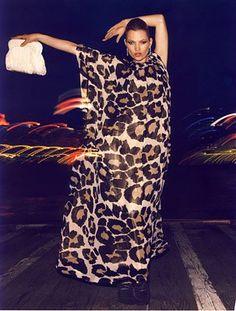 leopard.... KATE MOSS