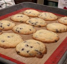 Carbquick Chocolate Chip Cookies are easy to make, but letting them cool to eat will be the hardest part of this recipe. These cookies are actually WAY better the next … Keto Chocolate Chip Cookies, Keto Cookies, Low Carb Sweets, Low Carb Desserts, Diabetic Recipes, Low Carb Recipes, Carbquik Recipes, Cookie Recipes, Dessert Recipes