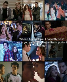 Teen Wolf - Lydia and Stiles, when I first met you I honestly didn't know you were going to be this important to me