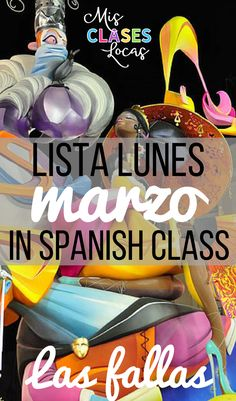 Lista lunes - marzo - ideas for Spanish class! Spanish Teaching Resources, Teaching Tools, Teaching Ideas, Spanish Teacher, Spanish Classroom, Curriculum Planning, Spanish Culture, Music Station, Future Classroom