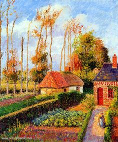 paintings by camille pissarro - Google Search