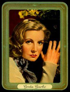 German Cigarette Card - Actress, Greta Garbo | Flickr - Photo Sharing!