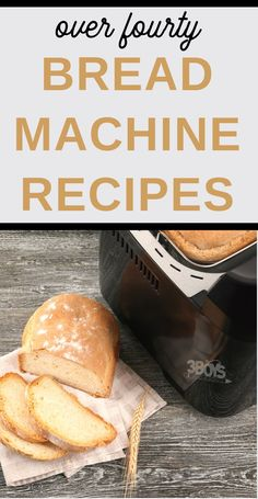 my favorite Bread and Bread Machine recipes. There are over 40 in the collection and they are yummy! This roundup features over 40 of my favorite Bread and Bread Machine Recipes - perfect for baking your own bread! Low Carb Bread Machine Recipe, Easy Bread Machine Recipes, Best Bread Machine, Bread Maker Recipes, Oven Recipes, Easy Recipes, Amish Recipes, Southern Recipes, Baking Recipes