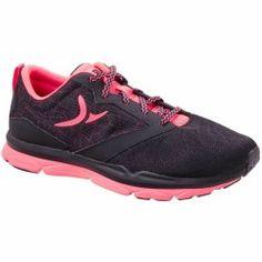 Energy 500 női fitneszcipő kardioedzéshez, fekete/rózsaszín