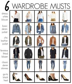 Capsule Wardrobe for Every Style - The MotherchicYou can find Wardrobe basics and more on our website.Capsule Wardrobe for Every Style - The Motherchic Capsule Wardrobe Women, Capsule Outfits, Fashion Capsule, Mode Outfits, Wardrobe Ideas, Work Wardrobe Essentials, Fashion Outfits, Fashion Edgy, Fall Fashion
