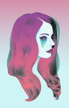Lana Del Rey #LDR #art