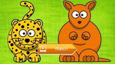 JAGUAR ve KANGURU Cizgi Filmi Sevimli Hayvanlar  JAGUAR ve KANGURU Sevimli Hayvanlar izgi filmi balyor Abece TV anaokul ve okul ncesi eitim desteini ocuklarmz iin tamamen cretsiz sunar  on Pet Lovers